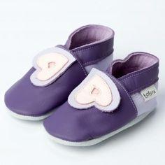 Chausson Bobux Coeur Violet