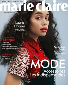 Marie Claire, Laura Harrier, Hollywood, Culture, Lifestyle, Magazine Covers, Hair