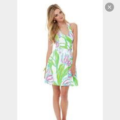 Lilly Pulitzer Ross dress Ring the Bellboy Worn once EUC. Tag was snipped to prevent returns. Hanger straps were cut off. No trades. Lilly Pulitzer Dresses Mini