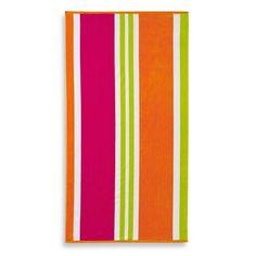 Multi-Stripe Jacquard Beach Towel   @giftryapp