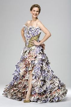 Money Dress If High Couture Was Only About The Price Tag