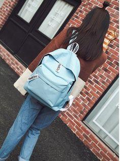 Fashion Casual Bags Canvas Bags Women Backpacks School Bags Travelling Bags  B28 1bb387a1e65d4