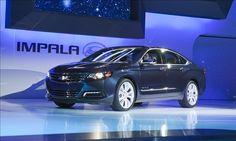 2014 Blue Chevrolet Impala