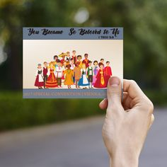 You Became So Beloved To Us – JW CONVENTION GIFTS