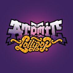 Atomic Lollipop by Jared Nickerson, via Behance