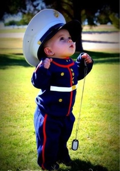 Future little soldier