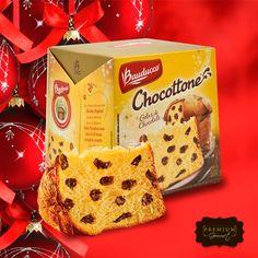 Panetone é bom, mas panetone com chocolate é bom demais! Venha até a loja e compre o seu Chocottone Bauducco hoje mesmo!