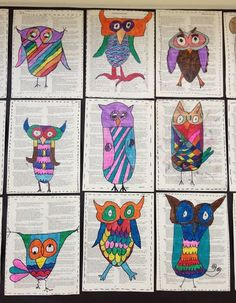 Apex Elementary Art: Search results for owl