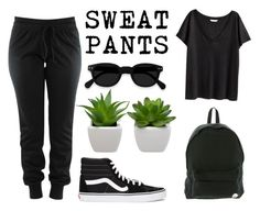 """""""Comfort Is Key"""" by saraleahy ❤ liked on Polyvore featuring Vans, H&M and Roxy"""