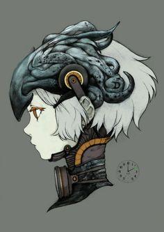 亗 Dr. Emporio Efikz 亗 blog | Steampunk portrait - Niji