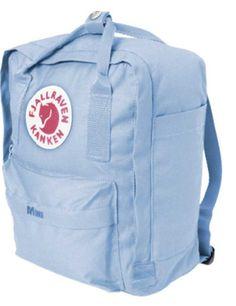 Light Blue Fjallraven Kanken Mini Backpack - $55