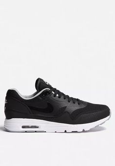 new concept 37867 a0798 Nike Wmns Air Max 1 Ultra Ess - 704993-004 - Black   Wolf Grey