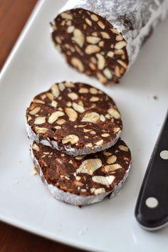 Saucisson au chocolat : un dessert drôle, chocolaté et très bon !