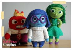 Sabrina's Crochet: Sadness (Inside Out)