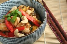 Quick and Easy Chicken & Cashew Nut Stir Fry Unislim Recipes, World Recipes, Chicken Recipes, Recipies, Chicken Stir Fry, Fried Chicken, Quick Easy Meals, Healthy Dinner Recipes, Fries