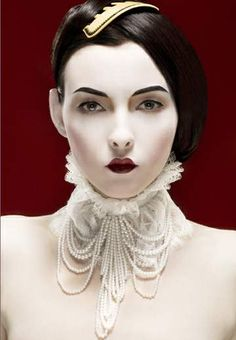 Collar, Make-Up, Style...  photo by Andy Julia