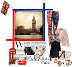 """""""London Calling"""" by julianamarieglamorous ❤ liked on Polyvore"""