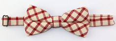 Cotton Colorful Plaid Bow Tie for Adult and Young Boys