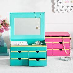 Jane Jewelry Storage, Medium Box | PBteen