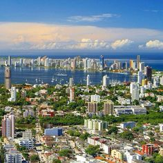 Cartagena de Indias...Colombia.  #world #colombia #beauty