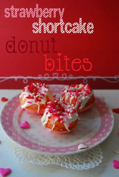 shortcake donut I wonder if this will work with other cake mixes! I'm thinking, chocolate donut with a salted caramel icing glaze!