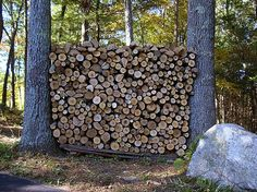 firewood piles - Google Search