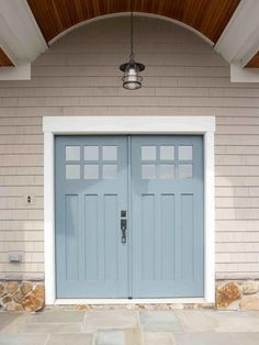 popular colors to paint an entry door