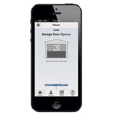 Close the garage from anywhere - Best Smart Home Products - Sunset Garage House, Garage Doors, Smart Garage Door Opener, Best Smart Home, Household, Sunset, Techno, Products, Sunsets