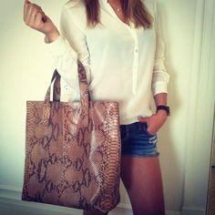 Shopping Bag Marrom