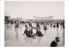 """This+wonderful+A4+(12""""+x+8"""")+glossy+Art+Print+is+taken+from+a+collection+of+highly+detailed+photographic+Beach+&+Street+scenes+in+Atlantic+City+c1900-1915.  I+have+to+admit+that+I+am+completely+fascinated+by+this+collection.+These+hi+resolution+photographs+offer+a+unique+view+of+life+in+Atlanti..."""