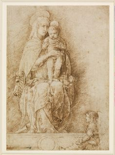 Andrea Mantegna Vergine col Bambino1490