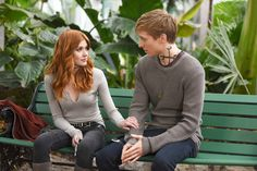 """Clary and Sebastian. New still of episode """"You Are Not Your Own"""" Clary And Jace, Clary Fray, Clary And Sebastian, Sebastian Morgenstern, Shadowhunters Cast, Sebastian Shadowhunters, Scorpio Zodiac Facts, Dominic Sherwood, Isabelle Lightwood"""