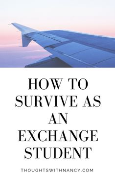 being an exchange student can make or break you! here are a few things that can help to make your exchange the best year of your life!!