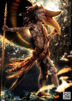 Guardian of Sarawak by nahnahnivek on deviantART