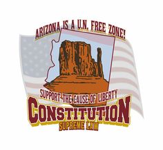 Arizona is a U.N. Free Zone Lavoy Finicum Burns Oregon Protest Ammon Bundy Christian 100% Cotton Tee T-Shirt Mens Womens Unisex by TimeofReason on Etsy