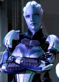 She brings out the lesbian in me. Mass Effect Characters, Mass Effect Games, Mass Effect Art, Sci Fi Characters, Aliens, Vampire Masquerade, Mass Effect Universe, Female Armor, Funny Animal Quotes