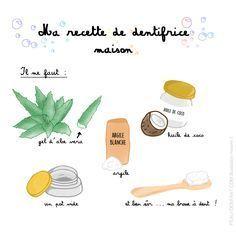 My homemade toothpaste recipe Toothpaste Recipe, Homemade Toothpaste, Homemade Shampoo, Homemade Beauty, Diy Beauty, Pasta Dental Casera, Limpieza Natural, French Beauty Secrets, Homemade Cosmetics