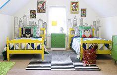 Bedding ideas for bold boys' room (11)