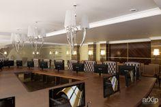 Зал для заседаний и совещаний: интерьер, зd визуализация, современный, модернизм, банк, страховая компания, 50 - 80 м2, зал, интерьер #interiordesign #3dvisualization #modern #bank #insurancecompany #50_80m2 #hall #interior arXip.com