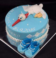 Krstinové torty » Torta Na krstiny pre chlapca