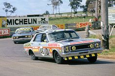1971 XW GTHO of Bill Brown. Check out that body roll....