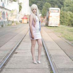 Being Blonde // Hybrid Dress & abHair Wig
