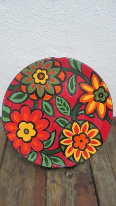 Best 11 6 x hand painted bamboo coasters with stand Pottery Painting, Ceramic Painting, Ceramic Art, Painted Bamboo, Painted Rocks, Rock Crafts, Arts And Crafts, Paint Your Own Pottery, Madhubani Painting