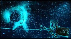 Life of Pi (plankton scene) - luminescent water could be interesting for lake scene