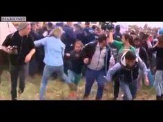 Calci e sgambetti ai profughi in fuga in Ungheria: licenziata operatrice televisiva (video) - DiarioNet
