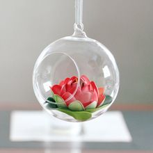 Elegant hanging <strong>glass</strong> <strong>vase</strong> galss ball 8cm