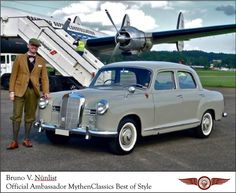 1955 Mercedes-Benz Ponton - Titelstar und Filmstar mit erst 107'000km im sensationellen Originalzustand | Classic Driver Market