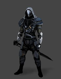 ArtStation - Sword guy.., John Ribera
