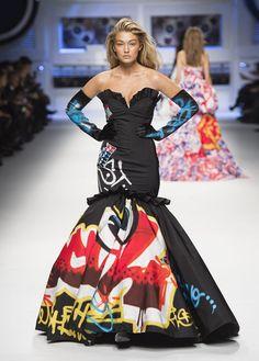 Moschino Fall/Winter 2015/16 fashion show - See more on www.moschino.com #Gigi she's on fire!!!