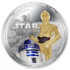 Star Wars Legal Tender Coins | New Zealand Mint - Star Wars collectible coins http://www.nzmint.com/starwars #StarWars
